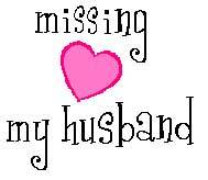 missing my husband