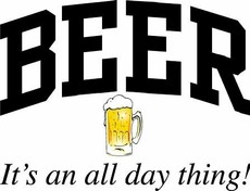 beer it's an all day thing