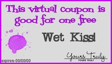 wet kiss coupon