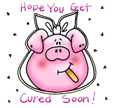 hope you get cured soon
