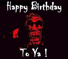 happy birthday to ya skull