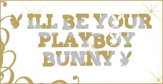 i'll be your playboy bunny