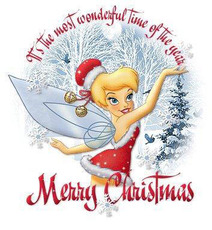 merry christmas tinkerbell