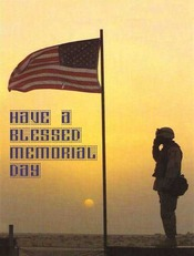 have a blessed memorial day