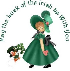 may the luck of the irish be with you