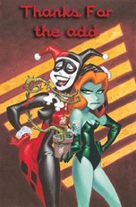thanks for the add jester from batman and poison ivy