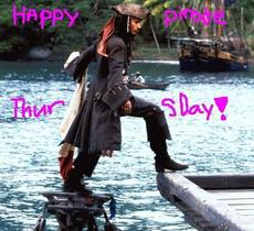 happy pirate thursday