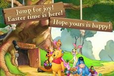 jump for joy easter time is here hope yours is happy