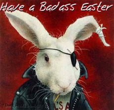 have a badass easter