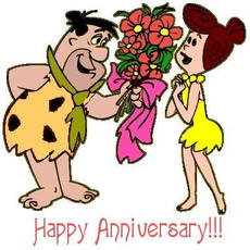 happy anniversary flintstones