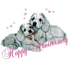 happy anniversary dogs