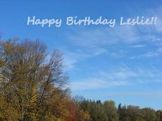 happy birthday leslie