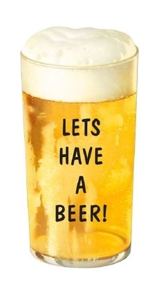 Lets have a beer