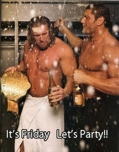 its friday lets party