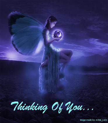 thinking of you fairy