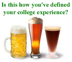 is this how you've defined your college experience