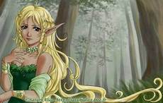 elf with long blonde hair
