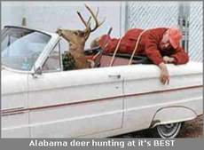 alabama deer hunting dead man