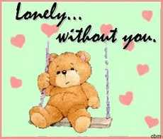 lonely without you