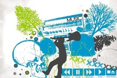 music collage