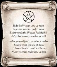 wiccan scroll