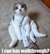 i can hae walkthrough cat with wii
