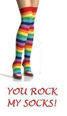 you rock my socks