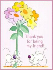 thank you for being my friend