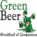 green beer breakfast of companions