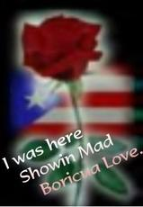 i was here showin boricua love