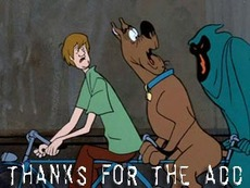 thanks for the add scooby doo