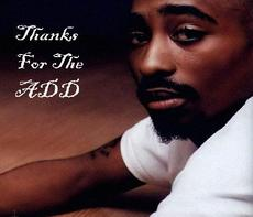 thanks for the add tupac