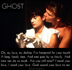 oh my love darling ghost