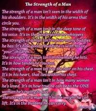 The strength of a Man